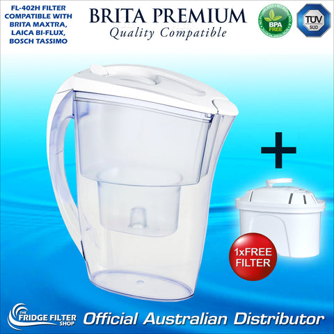 fj402 brita maxtra marella compatible water filter jug. Black Bedroom Furniture Sets. Home Design Ideas