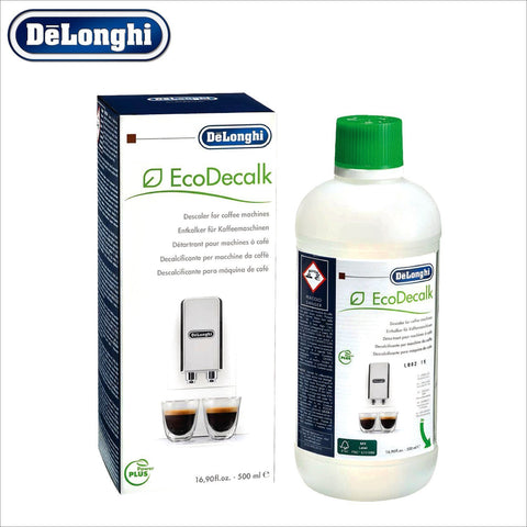 Genuine DeLonghi Descaler for Coffee Machines - 500ml - EcoDecalk DLSC500 - 5513296051 - Thefridgefiltershop