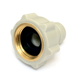 "Premium Brass Thread 1/2"" BSP FI 1/4"" Female Adaptor Fridge Water Filter Tube Connector John Guest Fit Half Quarter Inch"