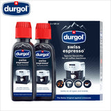Durgol Swiss Espresso Special Descaler Decalcifier for Espresso Coffee Machine 2 x 125ml - Thefridgefiltershop
