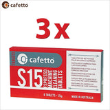 Cafetto S15 Espresso Coffee Machine Cleaning Tablets 1.5g - 8 Tablets - Thefridgefiltershop