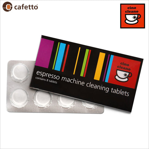 Cino Cleano Cafetto Breville Espresso Coffee Machine Cleaning Tablets - 8 Tablets - Thefridgefiltershop