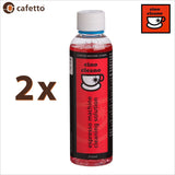 Cino Cleano Cafetto Espresso Coffee Machine Cleaning Solution - 250ml - Thefridgefiltershop