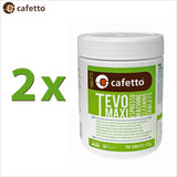 Cafetto Tevo Maxi Espresso Coffee Machine Cleaner OMRI Organic Cleaning Tablets - 150 Tablets - Thefridgefiltershop