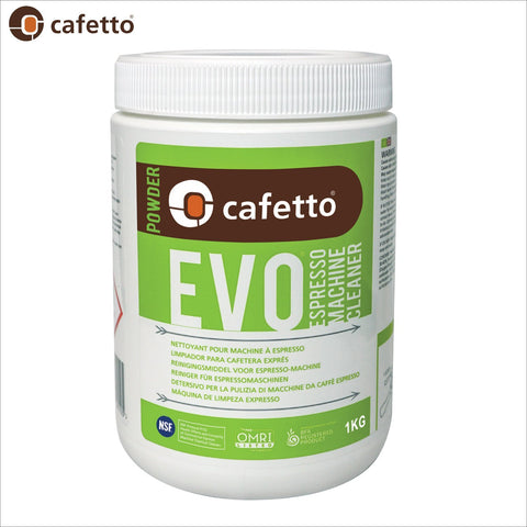 Cafetto EVO Espresso Coffee Machine Cleaner OMRI listed for organic use - 1KG - Thefridgefiltershop
