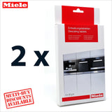 Genuine Miele Coffee Espresso Machine Descaling Decalcifier Tablets 10178330 - Thefridgefiltershop