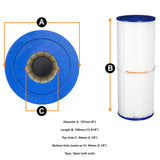 RDC 25 Arcadia & Banff Spa Premium Reemay Hot Tub Cartridge Pool Filter - Thefridgefiltershop