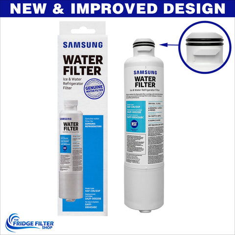 genuine oem samsung da2900020b ice and water fridge filter