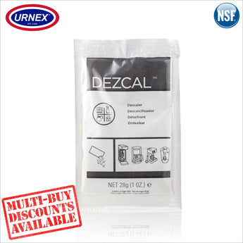 Urnex DEZCAL™ Espresso Coffee Machine Activated Descaler Decalcifier Descaling Powder - Thefridgefiltershop