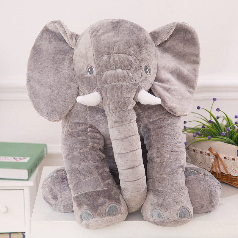 grande peluche l phant pour b b enfant 65 cm cadeau de naissance shopping addict yes. Black Bedroom Furniture Sets. Home Design Ideas