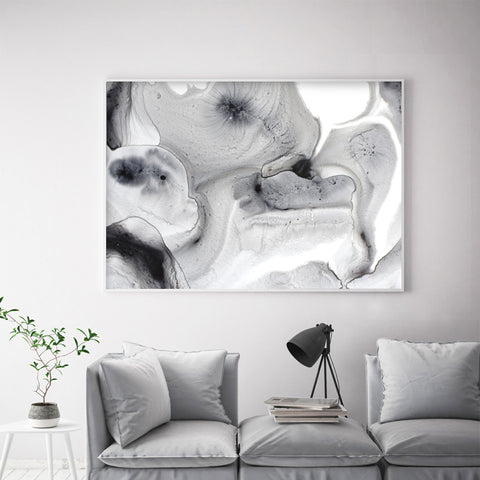 Buy Large Black & White wall Painting