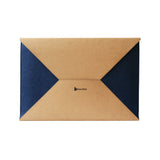 Navy Blue & Brown sleeve/slip case for Macbook