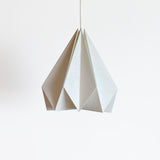 Brownfolds White Origami Paper lamp shade buy online
