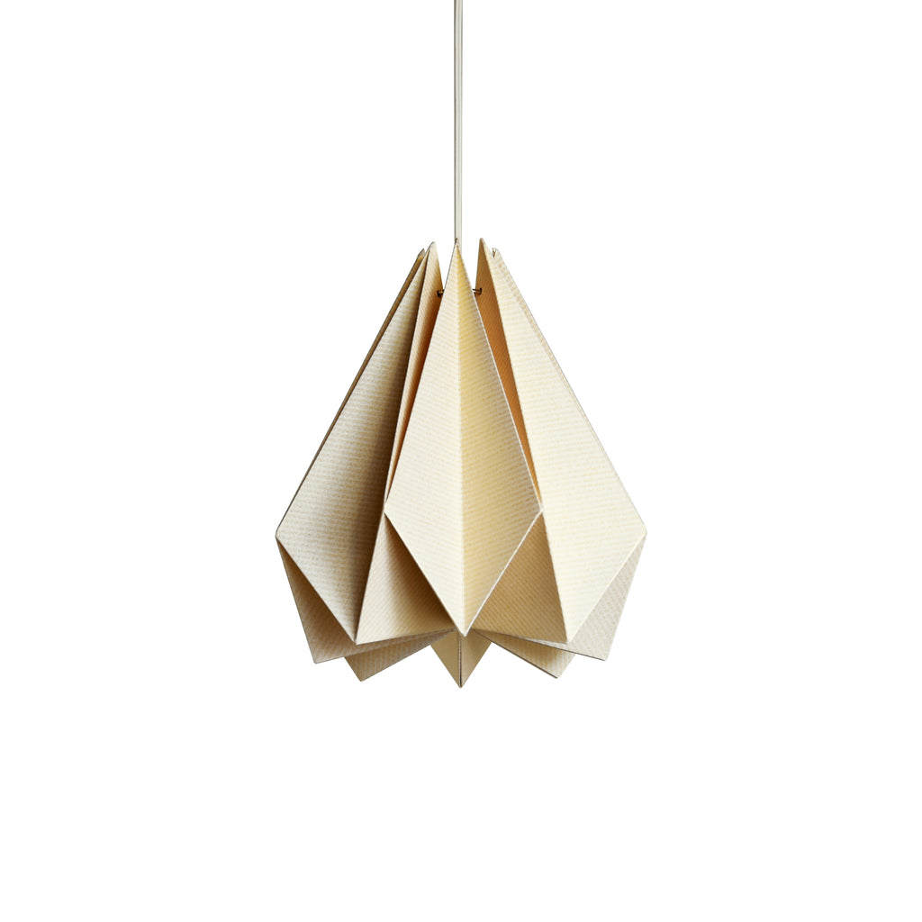 Brownfolds pearl gold paper origami lamp shade vanilla bliss single brownfolds origami paper lamp shade buy online india aloadofball Image collections