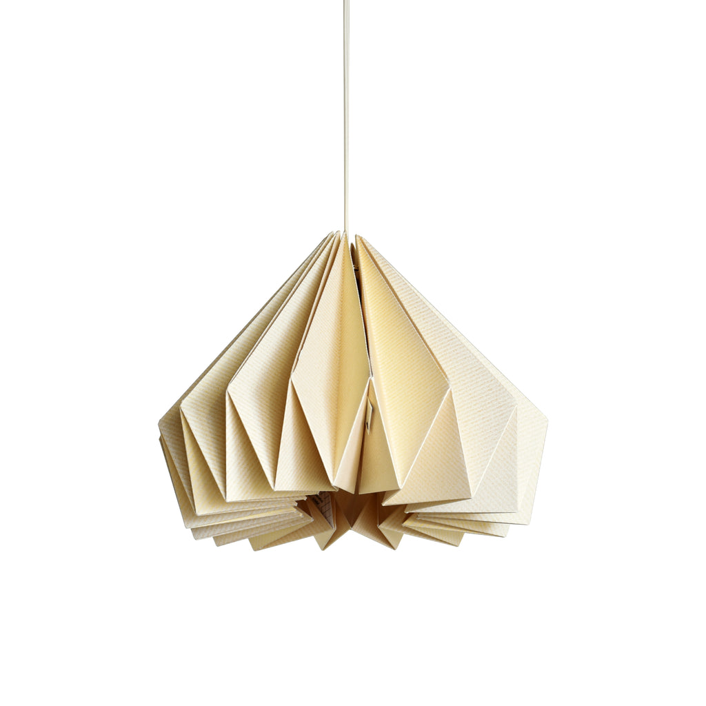 Brownfolds pearl gold paper origami lamp shade vanilla bliss dual bownfolds origami paper lamp shade buy online india aloadofball Images