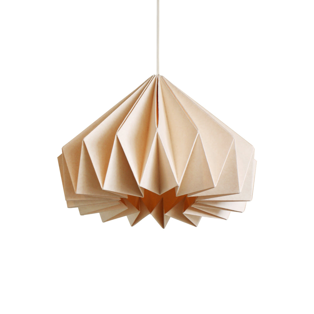 Brownfolds peach paper origami lamp shade vanilla bliss dual pack paper origami lamp shade buy online india e commerce aloadofball