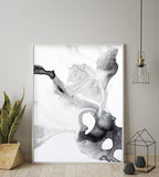 Buy Black & White wall Painting