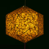 Nest Texture Brown Paper Lantern