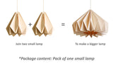 Modular Lamp origami design buy online