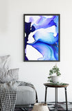 Buy Teal Blue wall Painting