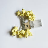 Buy Yellow string light pastel yellow pretty decor fairy light series