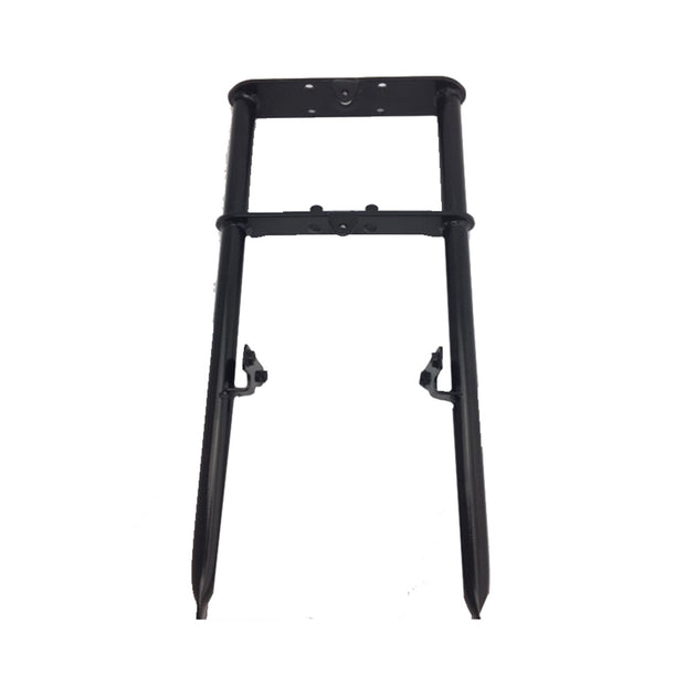 10-10015-00  -   FORK, FRONT BLACK RIGID w/ RUBBER CAPS (COMPATIBLE WITH B80/B105/E1000)