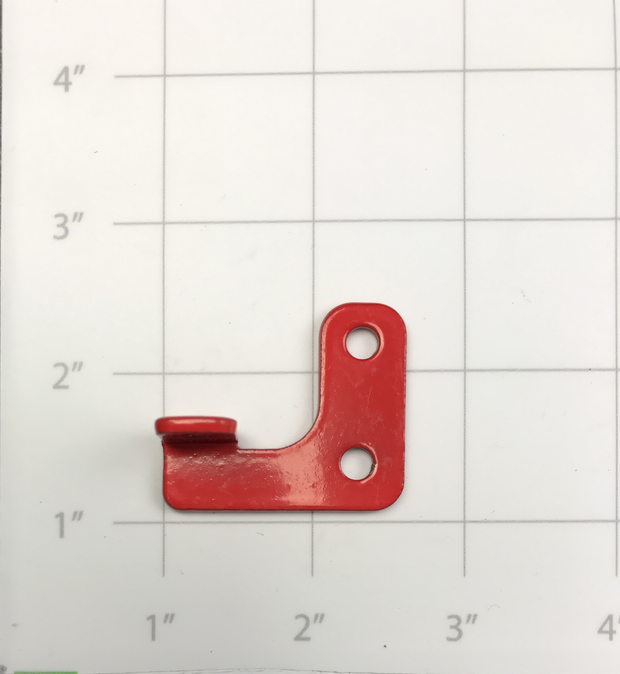 BRACKET, REAR, BATTERY BOX RED MM-E250