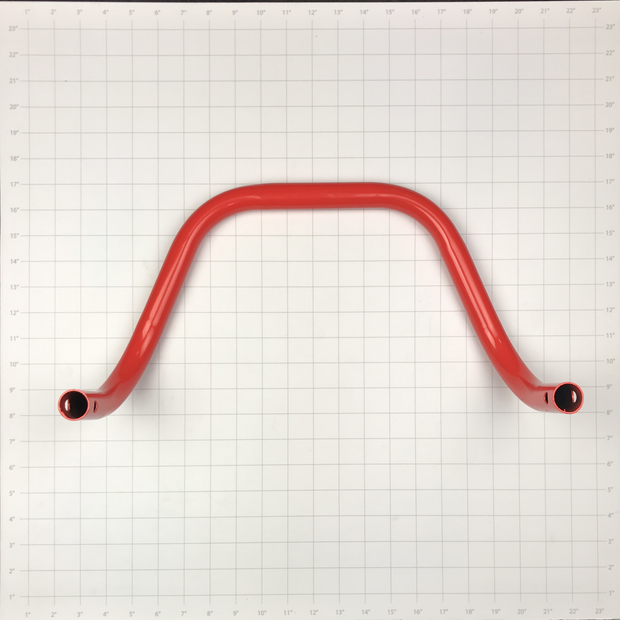 BAR, FRONT BUMPER RED