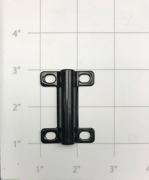 BRACKET, FLAG POLE MOUNT BLACK