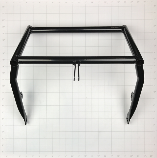 FRAME, SEAT SUPPORT GO KART BLACK