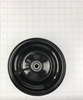 WHEEL ASSEMBLY, FRONT - RIM, BEARINGS, SPACER, VALVE STEM (NO TIRE)