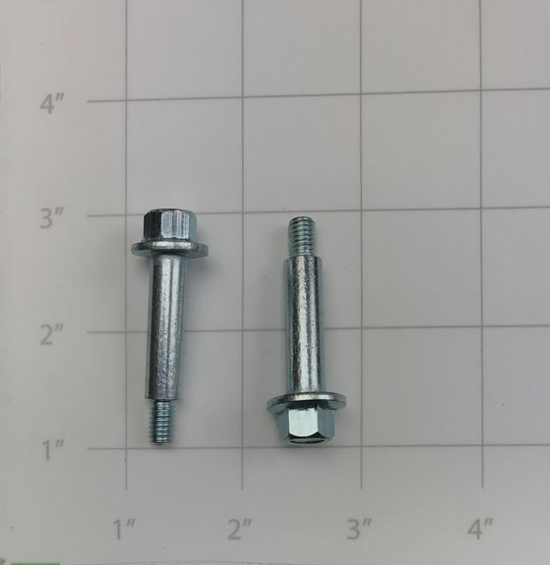 BOLT, FLANGED, ZINC SPECIAL M10 X 28.5 SHANK, M6 X 10 THREAD, TOTAL L 38.5
