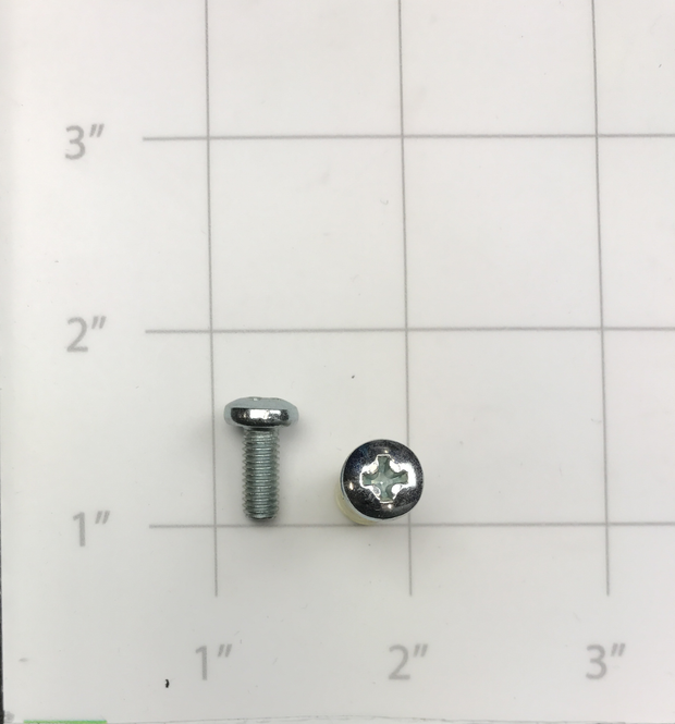 SCREW, BUTTONHEAD PHILLIPS ZINC M5 X 12