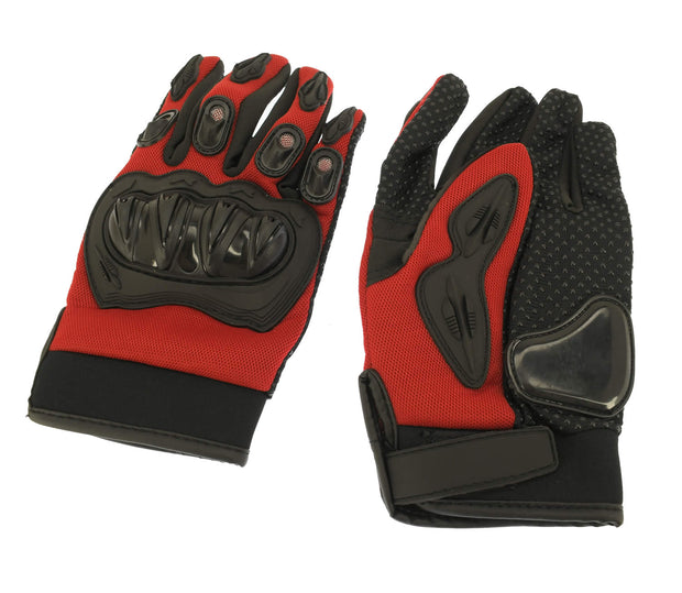 82-10004-01 Youth Racing Gloves (Large) Red