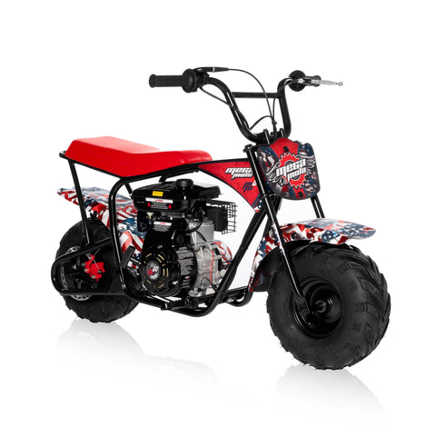 American Flag 80cc Mini Bike