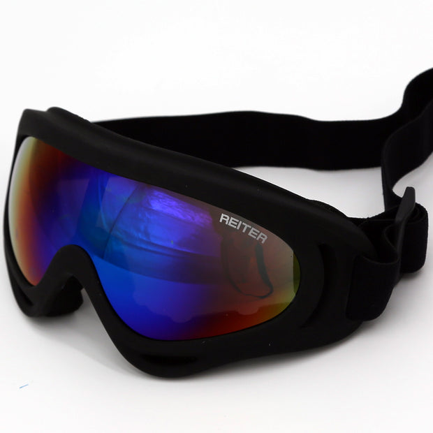 82-10008-00 Goggles, Black with Tinted Lens One Size Fits Most