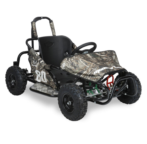 realtree go kart - right view