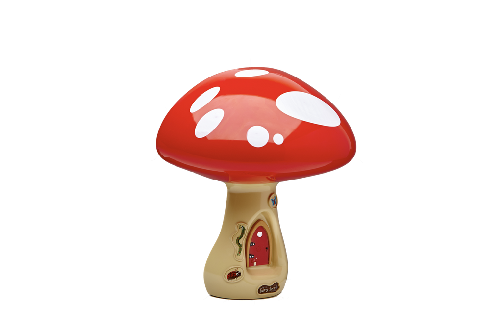 3-D Toadstool Night Light