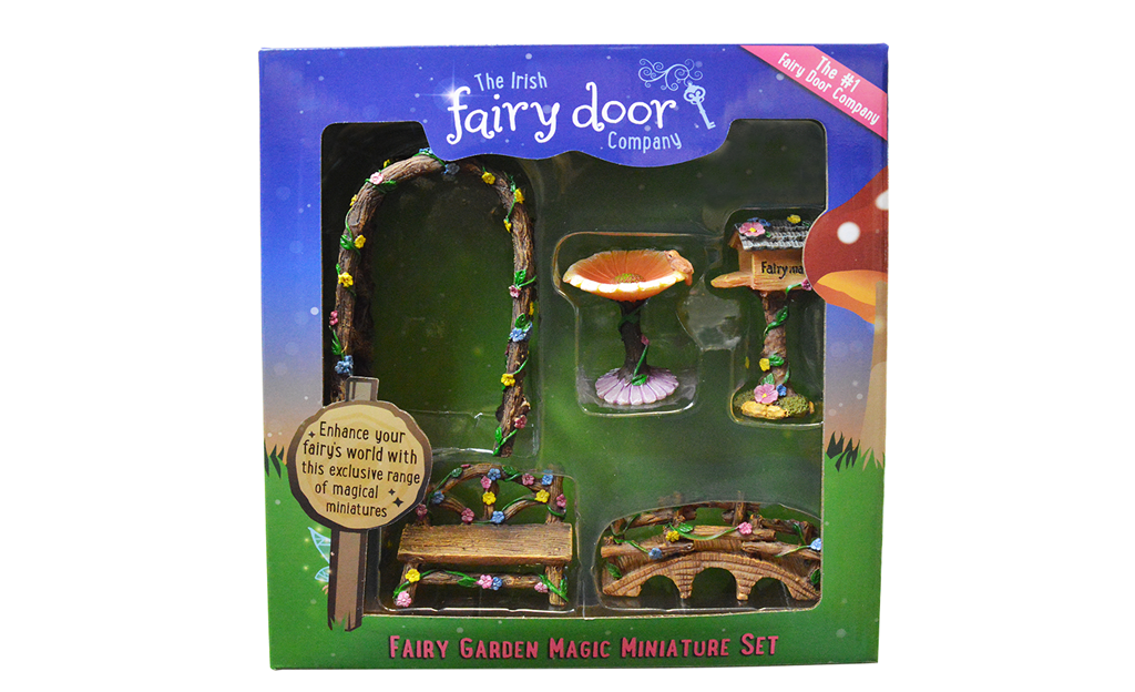 5-Piece Fairy Garden Miniature Set