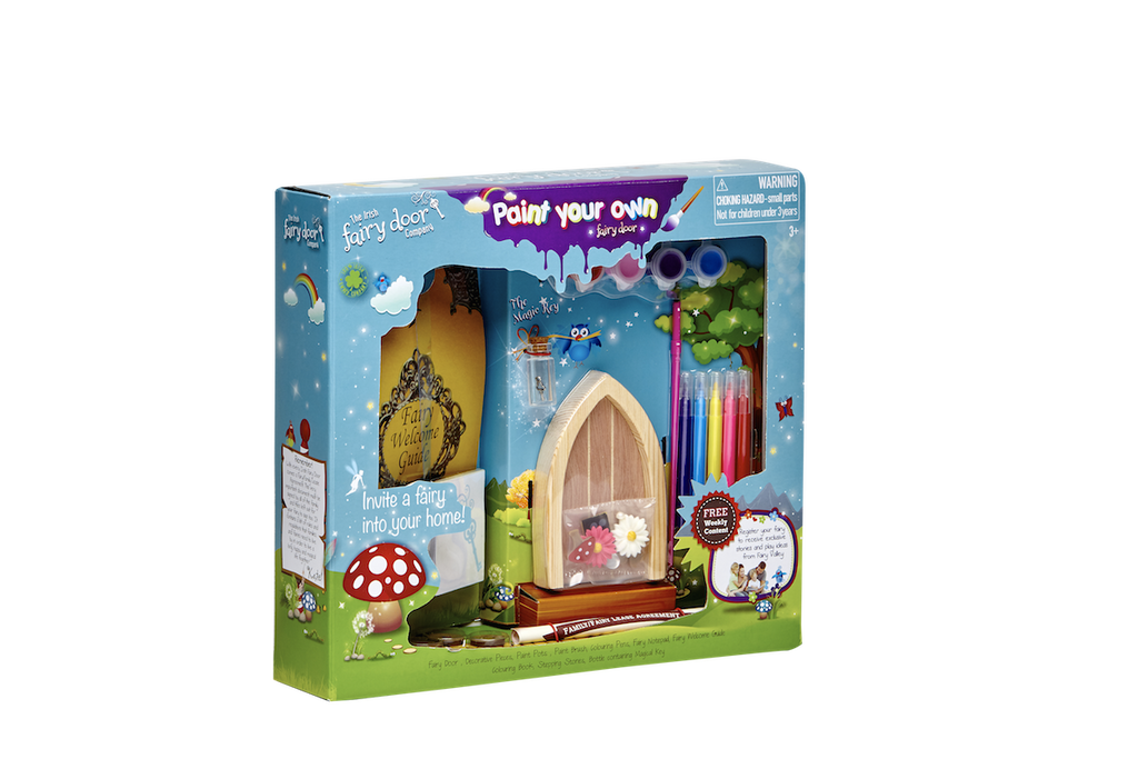 Paint your own door the irish fairy door company for Irish fairy door ideas