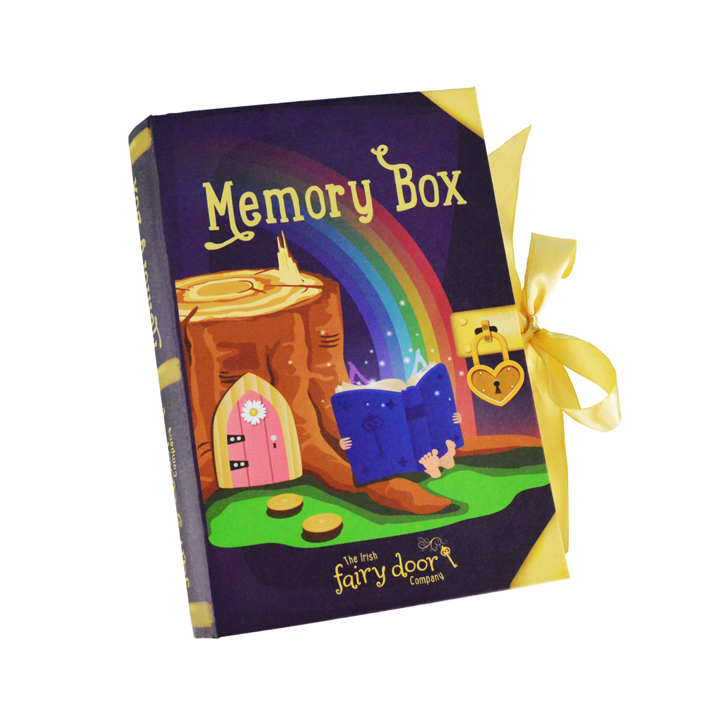 Irish Fairy Door Memory Box