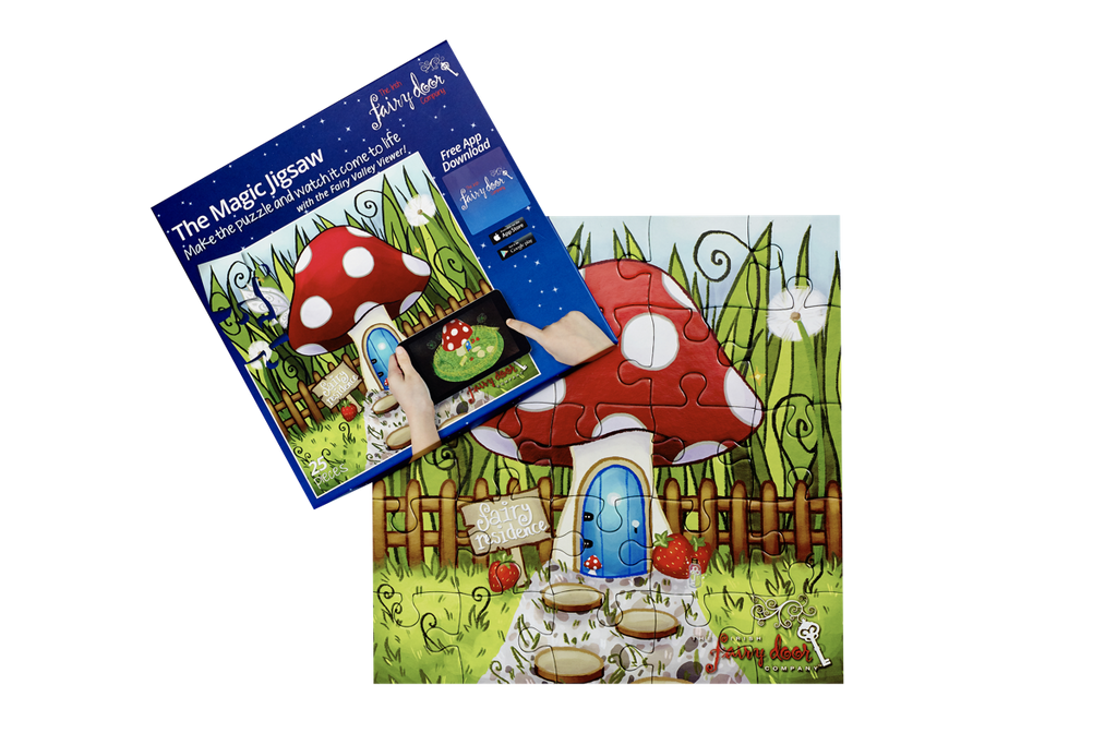 The Irish Fairy Door 'Magical' Jigsaw