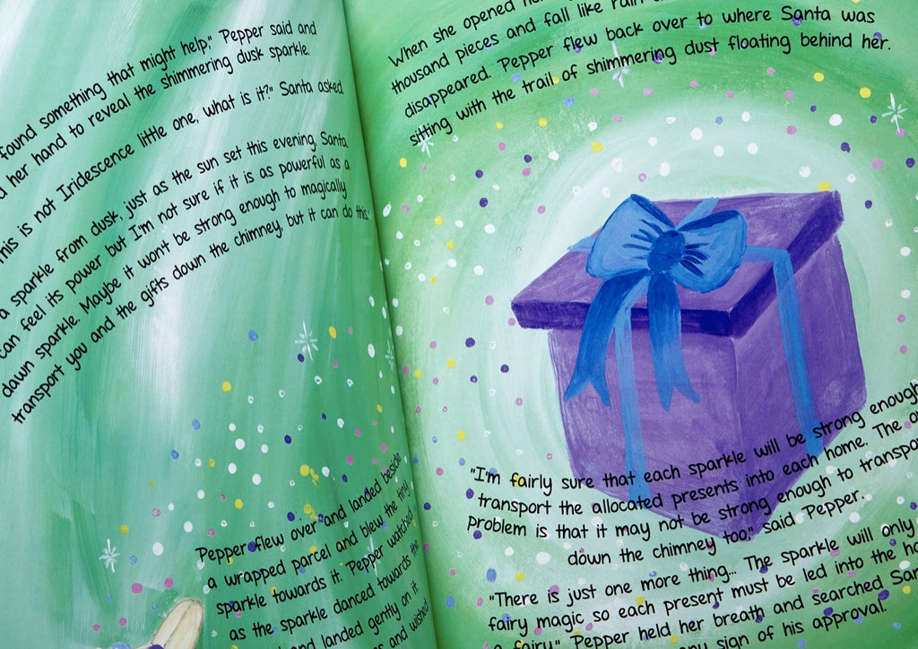 'The Fairy who Saved Christmas' Children's Book