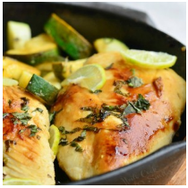 HONEY KEY LIME CHICKEN-