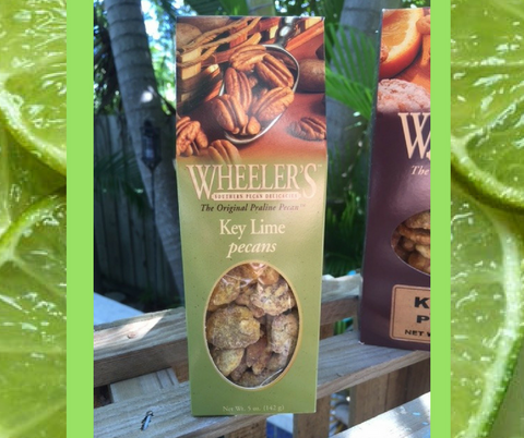 Wheelers Key Lime Pecans-5 oz