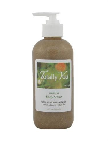 BODY SCRUB with natural bamboo