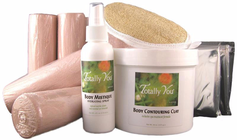 Spa-at-Home CONTOURING BODY WRAP KIT