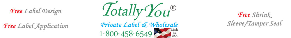 Wholesale & Private Label Skin Care From Totally You