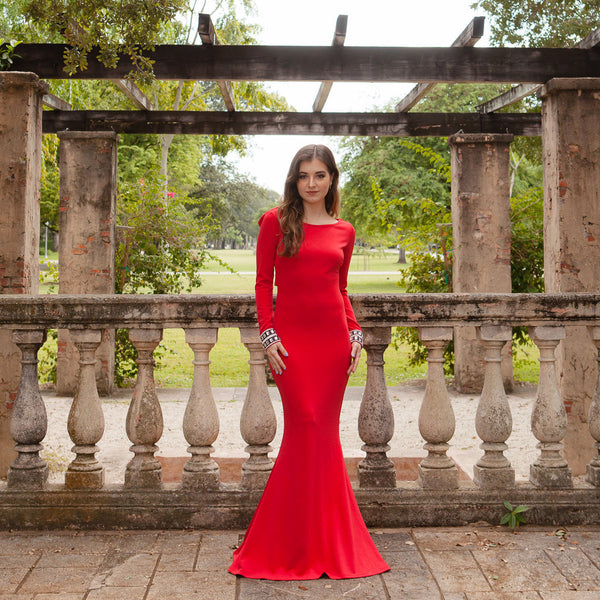 Alta Mia Red Gown