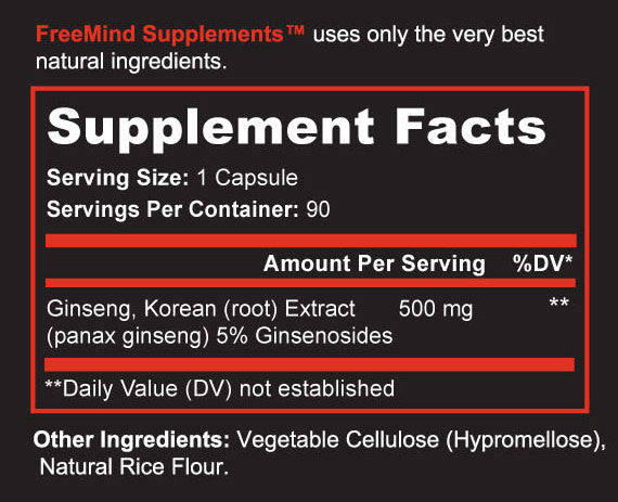 Korean Red Ginseng - Panax Ginseng